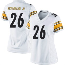 Anthony McFarland Jr. Pittsburgh Steelers Women's Game Nike Jersey - White