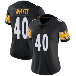 Kerrith Whyte Jr. Pittsburgh Steelers Women's Limited 100th Vapor Nike Jersey - Black