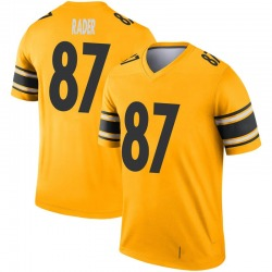 Kevin Rader Pittsburgh Steelers Youth Legend Inverted Nike Jersey - Gold