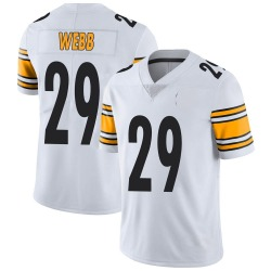 Ralph Webb Pittsburgh Steelers Youth Limited Vapor Untouchable Nike Jersey - White