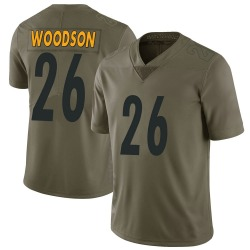 Rod Woodson Pittsburgh Steelers Men's Limited Salute to Service Nike Jersey - Green