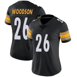 Rod Woodson Pittsburgh Steelers Women's Limited Team Color Vapor Untouchable Nike Jersey - Black